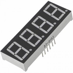 4 Digit LED Segment Display