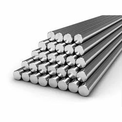 Round Polished Stainless Steel Bars, Single Piece Length: 3 meter, Grade: Fe 500