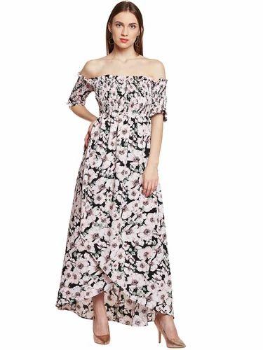 f78ec3f3a95d Casual Beautiful Designer Summer Cool Black Maxi Dress, Rs 1050 ...