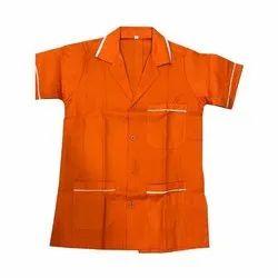 Half Sleeves Cotton Medical Apron