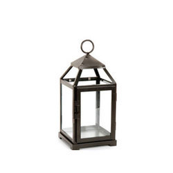 Metal And Glass Garden Hanging Lantern