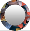 Round Designer Mirror