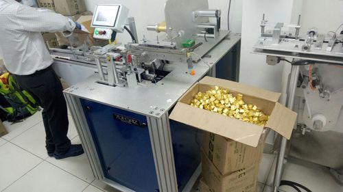 Chocolate Fold Wrapping Machine
