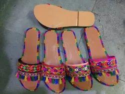 Stylish Ethnic Wear Kolhapuri Style Flip Flops