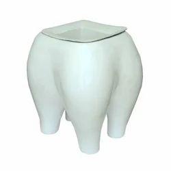Uniquely Designed Teeth Plant Holder