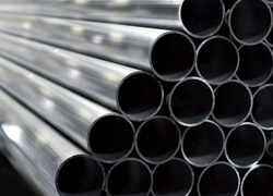 Aluminium Round Fluted Aluminum Pipes