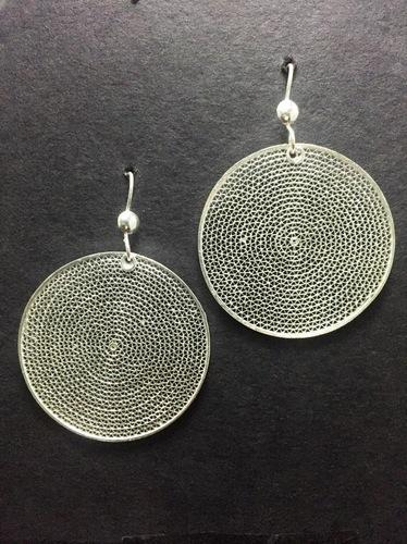 561671626fc4e Silver Filigree Earrings From Silver Linings Er003