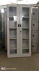 Full Glass Door Library Cupboard