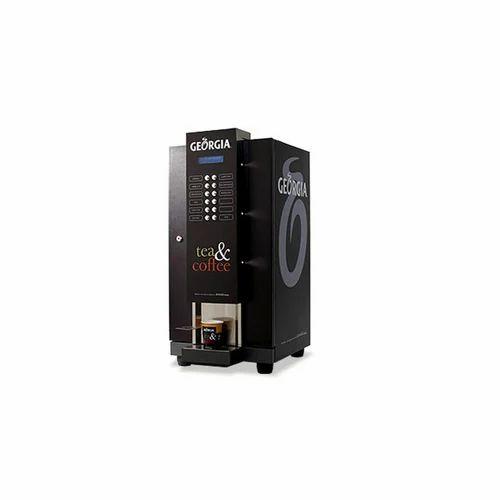 Black Automatic Georgia Coffee Machine Rental Service, Model: Beans cup, Capacity: 50-100 cups per day