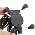 ROQ  Spider Bike MultiFunctional Mobile Holder With USB Charger