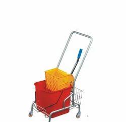 Down Press Single Mop Trolley