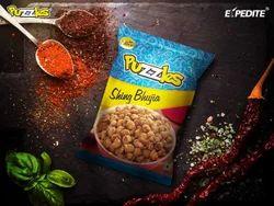 Puzzles Sing Bhujia Masala Peanuts, Packaging Type: Packet, 25 Grams