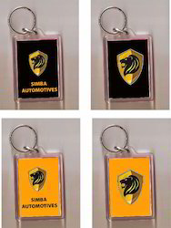 Acrylic Moulded Key Rings, Packaging Type: Bulk