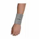 Omtex 5 Inch Grey Wrist Sweat Band