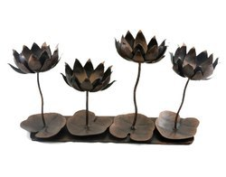 Iron Tea Light Stand Home Decor Hand Craft