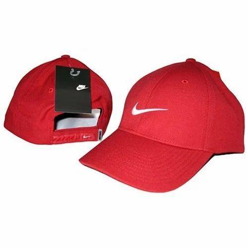 fa784d805a5 Cricket Red Nike Sports Cap