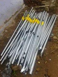 T Angle Iron Solar fence push pole, Automation Grade: Manual