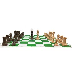 Roll Up Tournament Chess Board Game Set