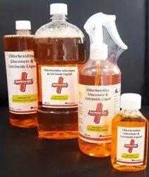 Chlorhexidine Gluconate and Cetrimide Liquid for Personal