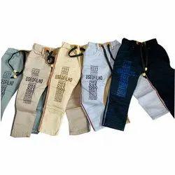 Party Wear Slim Fit Kids Printed Denim Jeans, Handwash