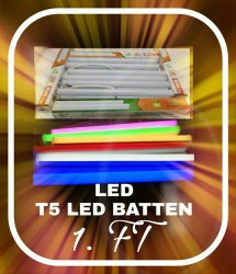 1 Foot T5 LED Tube Lights