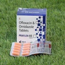 Ofloxacin 200mg  Ornidazole 500mg Tab