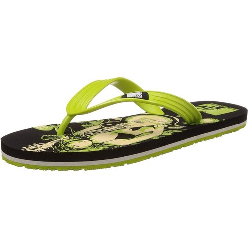 Lime Green Flip Flops Thong Sandals