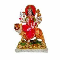 Marble Sherawali Maa Statue