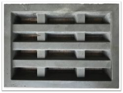 Grey Cement Ventilation Grill Jali, Size: 158x217x41 Mm