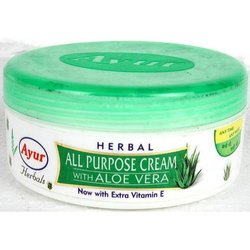 Green Ayur Herbal Aloe Vera Cream, For Skin Care, Packaging Size: 200 Ml