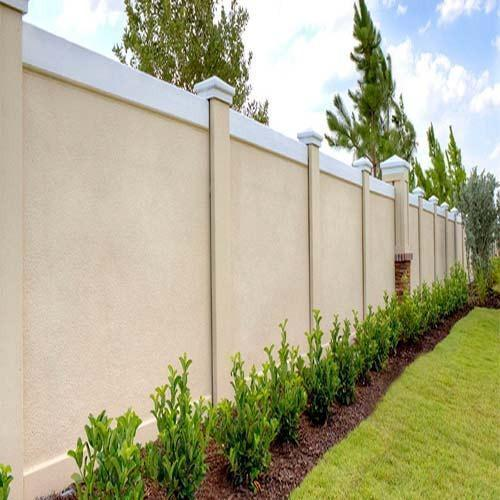 design compound wall 500x500 - View Small House Simple Compound Wall Design Pattern Pics
