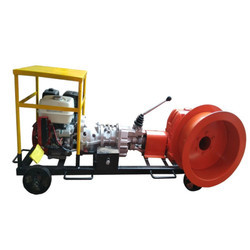 Cable Winch Machine