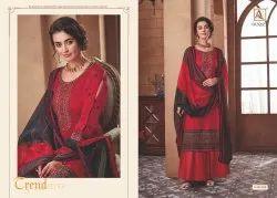 Zam Cotton Salwar Suit Dress Material
