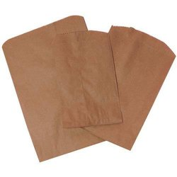 Plain Kraft Paper Grocery Packaging Bag