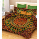 Double Bed Mandala Tapestry Bedsheet