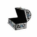Rawsome Shack Wooden & Stone Jewelry Box