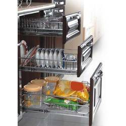 Modular SS Kitchen Rack