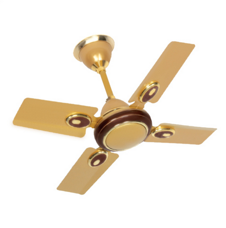 Brown 4 Blade Small Ceiling Fan Ushma Home Appliances Id 17999951573