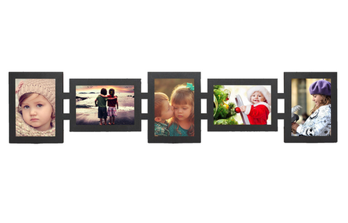Make Your Own Beautiful 5 Pictures Collage Wall Frame, कोलाज ...