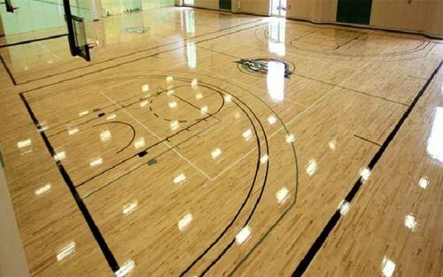 Basket Ball Maple Wood Flooring At Rs 450 Square Feet Basketball