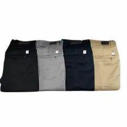 Mens Plain Cotton Formal Pant, Handwash