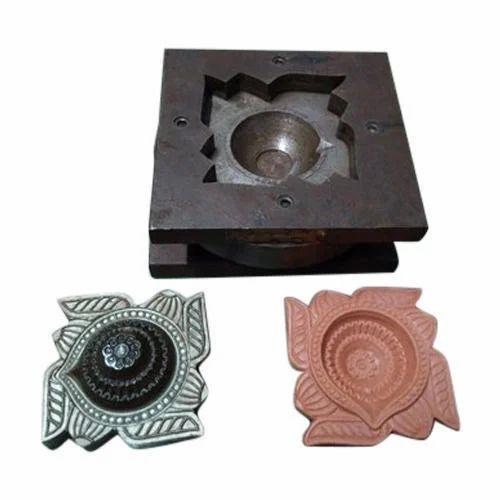 Mild Steel Clay Diya Die Mould, Yash Michenic Works | ID