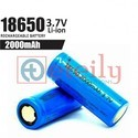 2000 mAh 18650 Li-ion Battery Cell