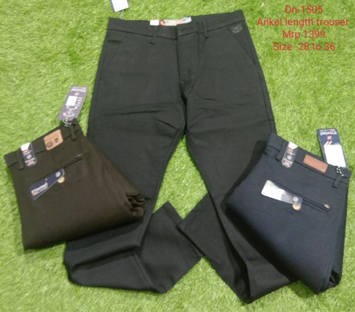 Chinos Men Party Wear Cotton Trouser