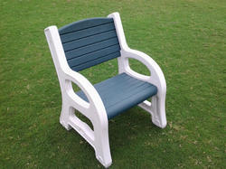 Garden Bench-Plastic-2.5' Long-Green