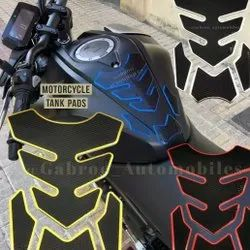 Gabroo Automobiles Universal Bike Tank Pad Funky Style Colors