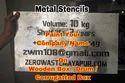 Metal Latter Stencils