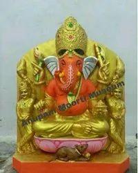 Siddhivinayak Ganesh marble statue
