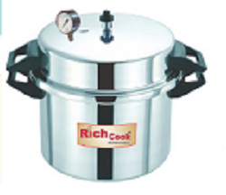 Jumbo Commercial Pressure Cooker 60 Litres