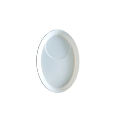 Oval Chat Plastic Plate